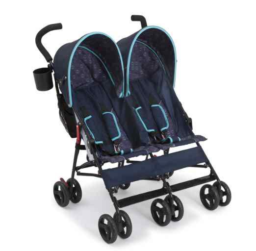Delta Children LX Side by Side Stroller