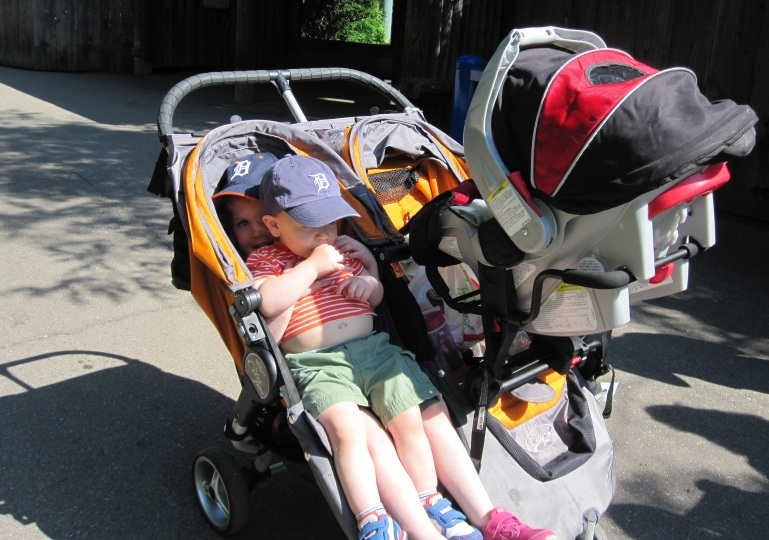Best Triple Strollers For Triplets